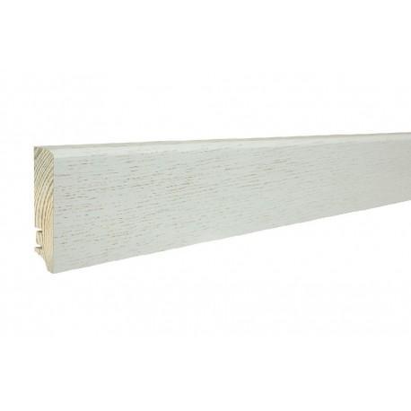 Плінтус напольний Дуб Pearl, лак, 60х16х2200 мм