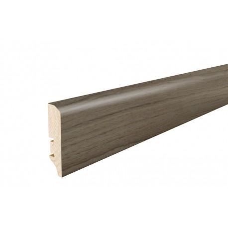 Плінтус напольний   Дуб Brownie, лак,  60х16х2200 мм